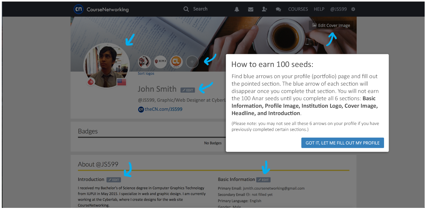 earn_100_seeds_from_completing_profile_page.png